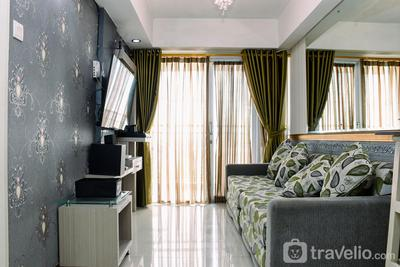 Chic and Cozy 1BR Apartment at H Residence near MT Haryono By Travelio