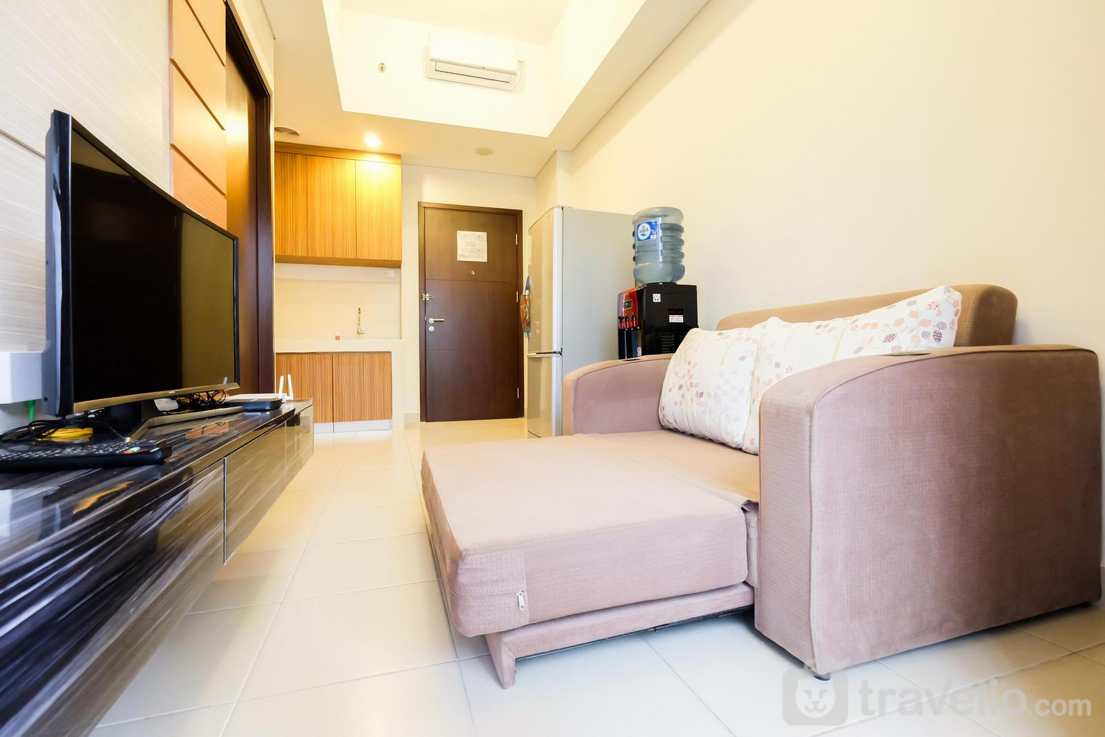 Saveria BSD City - Luxury 1BR Saveria Apartement near AEON&ICE BSD By Travelio