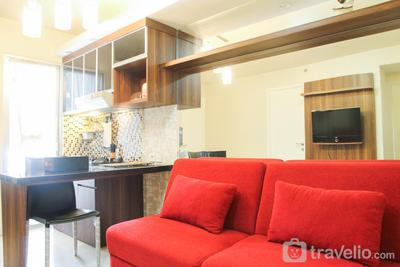Homey and Spacious 2BR at Green Palace Kalibata Apartment By Travelio