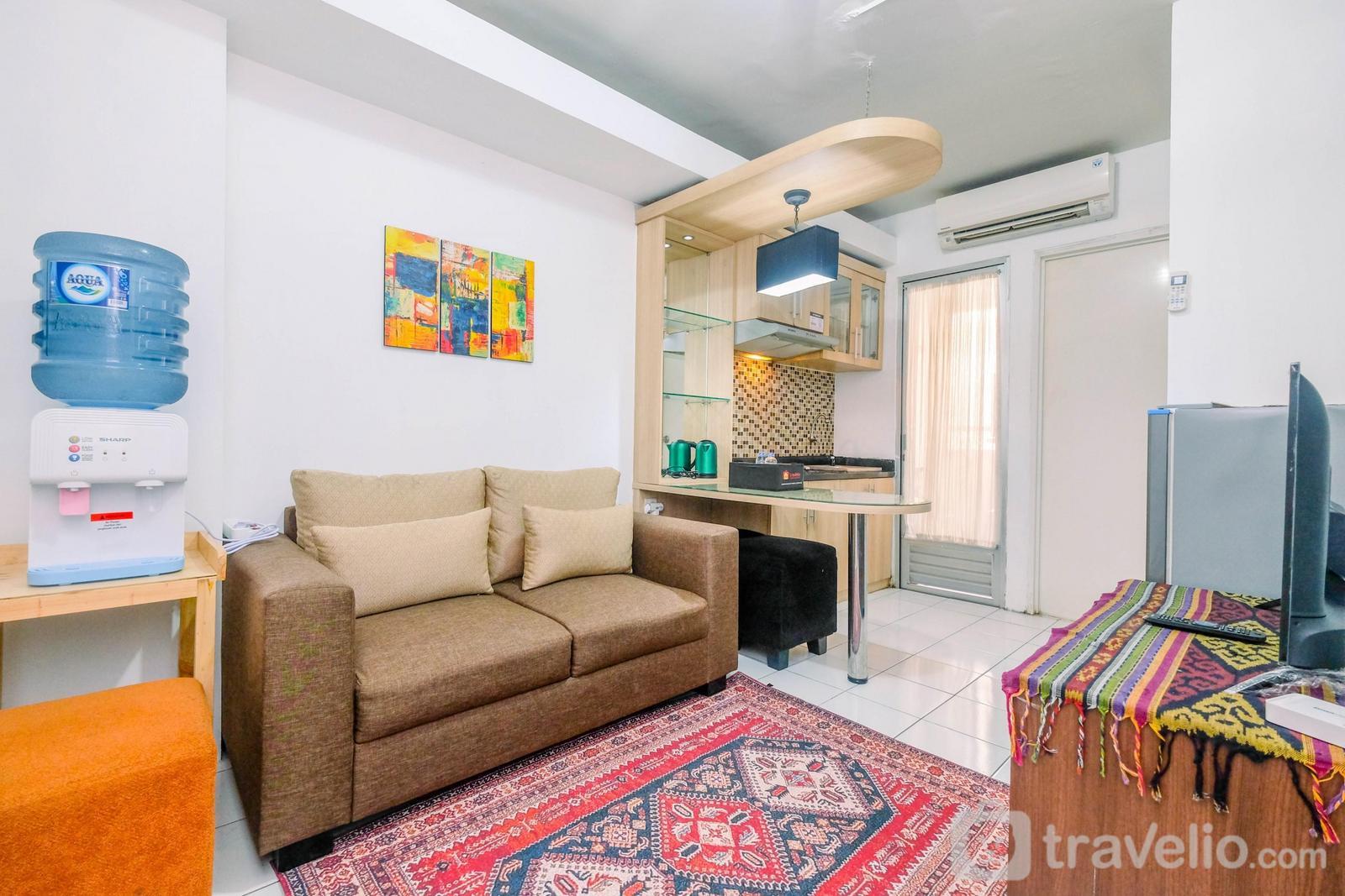 Kalibata City Apartment - Good Location 2BR Apartment Kalibata City near Mall By Travelio
