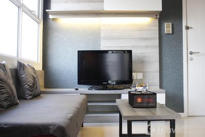 Quiet 2BR Apartment @ Parahyangan Residence Apartement with Mountain View By Travelio