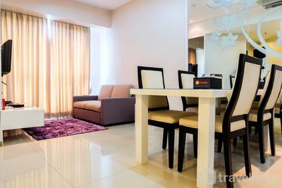 Best Location 2BR Gandaria Height Apartment By Travelio