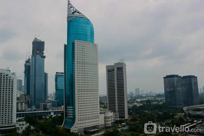 Best Location with 2BR at Sudirman Park Apartment By Travelio