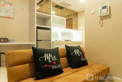 Cozy Puri Orchard Cedar Heights 1BR Apartment By Travelio