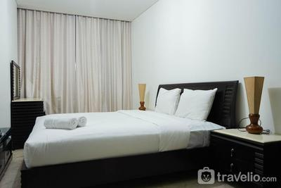 2BR with Study Room at L'Avenue Apartment By Travelio