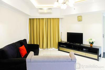 3BR City View Sudirman Condominium Apartment by Travelio