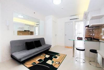2 BR Bassura City Apartment with Mall Access By Travelio