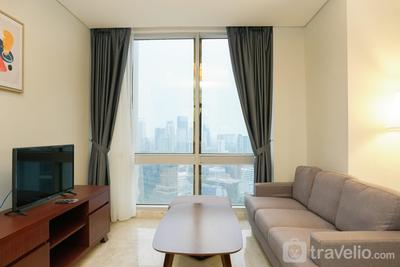Stunning 2BR at The Empyreal Condominium Epicentrum Apartment By Travelio