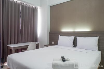 Modern Cozy Studio Apartment at Taman Melati By Travelio