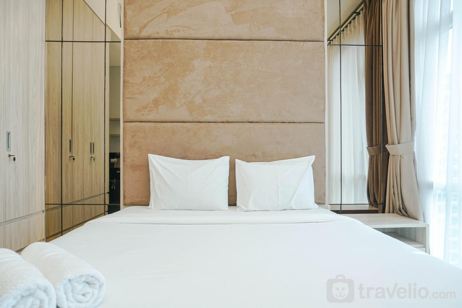 Apartemen Puri Mansion - Relaxing and Stylish Studio Puri Mansion Apartment By Travelio
