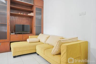 Strategic 2BR at Sudirman Park Apartment near Tanah Abang By Travelio