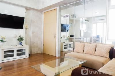 Quiet 2BR Apartment at Educity Pakuwon By Travelio