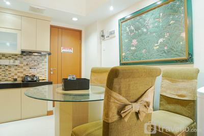 New Furnished and Elegant @ 1BR Green Park View Apartment By Travelio