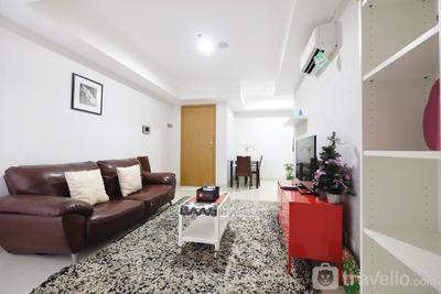 Elegant 1BR The Mansion Apartment near Kemayoran By Travelio