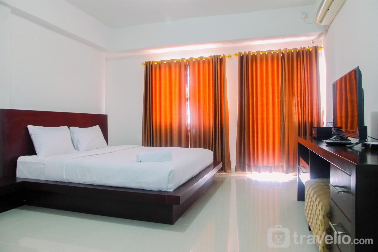 Park View Condominium - Affordable Price with City View Studio Room Park View Condominium Apartment By Travelio