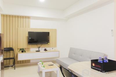 Brand New and Homey 2BR Meikarta Apartment By Travelio