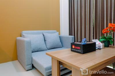 Connected to Mall 2BR Apartment at Green Pramuka City By Travelio