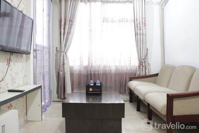 Marvelous & Scenic 2BR at Jarrdin Cihampelas Apartment By Travelio