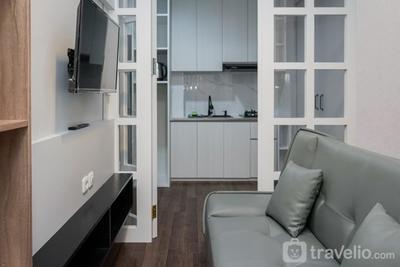 1BR Apartment Kayu Cinta at Tree Park Serpong By Travelio