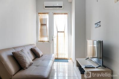 Simply 1BR Grand Palace Kemayoran Apartment By Travelio