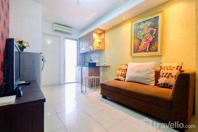 Contemporary 2BR at Green Palace Kalibata Apartment By Travelio
