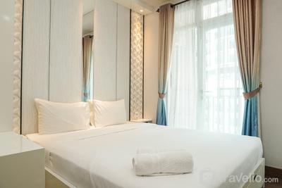 Comfy and Elegant Studio at Puri Orchard Apartment By Travelio