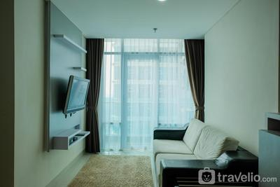 Stylish 2BR at Brooklyn Apartment near Alam Sutera By Travelio