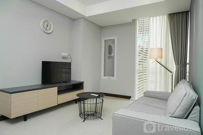 1BR Apartment with Study Room at Gallery West Residence By Travelio