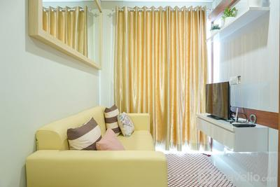 Strategic Location 1BR Apartment @ Puri Mansion near Puri By Travelio
