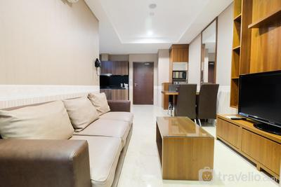 New Furnished 2BR at L'Avenue Pancoran Apartment By Travelio