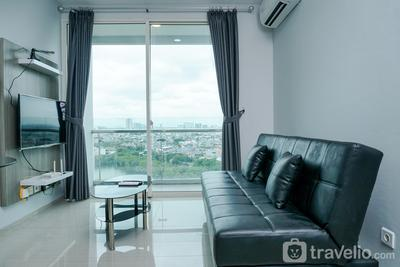 Relaxing 2BR at CitraLake Suites Apartment By Travelio