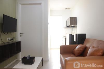 Modern & Relaxing 1BR Apartment at Parahyangan Residence near Parahyangan Catholic University By Travelio