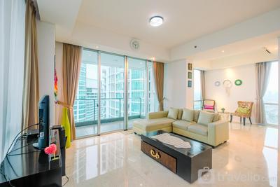 Luxurious 2BR Kemang Village Apartment By Travelio