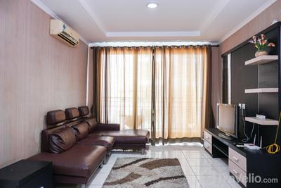 Spacious 3BR MOI Apartment Kelapa Gading By Travelio