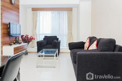 Best Modern and Homey 2BR Apartment at Casa Grande Residence By Travelio