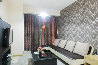 Warm and Cozy 2BR Gandaria Heights Apartment By Travelio