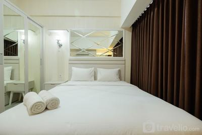 Elegant Studio at Springlake Summarecon Bekasi Apartment By Travelio