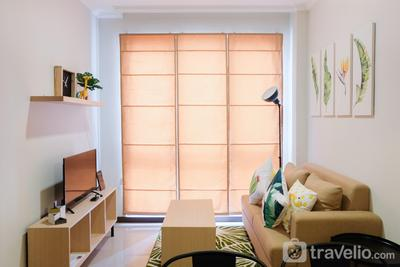 Minimalist and Cozy Room 1BR Asatti Apartment By Travelio