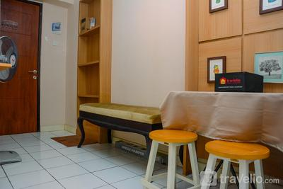 Cozy Living with Modern Design 1BR Kebagusan City Apartment By Travelio