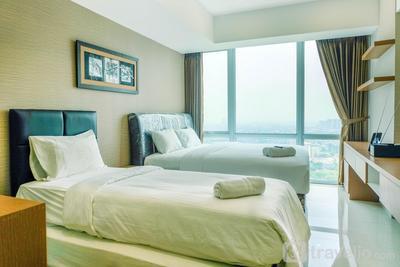 Cozy U Residence Studio Apartment near UPH Karawaci By Travelio