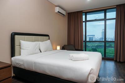 Comfy 1BR Veranda Residence Puri By Travelio