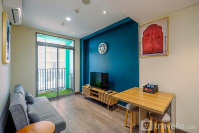Simply 1BR Apartment at Pejaten Park Residence By Travelio