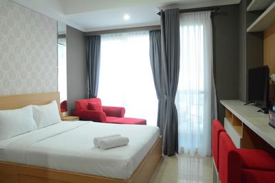 Exclusive Studio at Menteng Park Apartment By Travelio