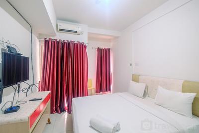 Simply Studio at Tamansari Skylounge Apartment By Travelio