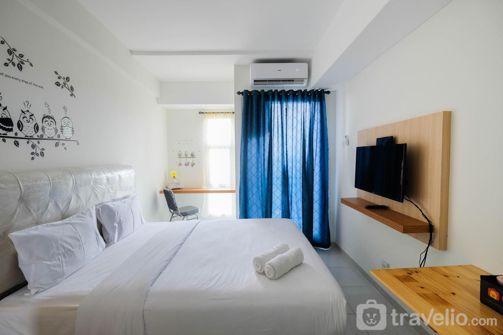 Akasa Pure Living BSD  - Minimalist Studio Apartment at Akasa Pure Living BSD By Travelio