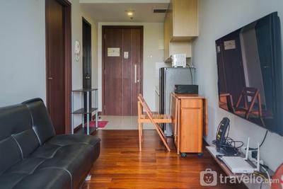 Elegant 1BR Apartment Scientia Residences near Summarecon Mall Serpong By Travelio