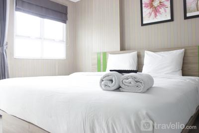 Cozy and Modern 1BR Apartment at Gateway Pasteur By Travelio
