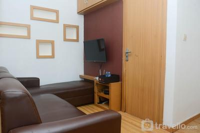 Relaxing 2BR at Menteng Square Apartment By Travelio