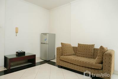 Classic and Warm 2BR Gading Mediterania Apartment By Travelio