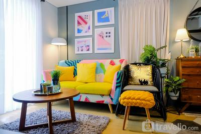 Modern and Stylish 2BR Pakubuwono Terrace Apartment By Travelio